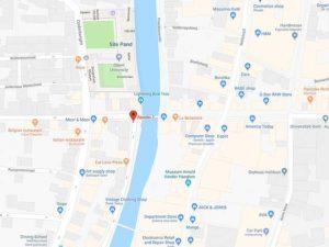 OCS Consulting Belgium Office Location Map